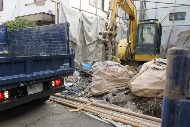 解体工事の経過措置について